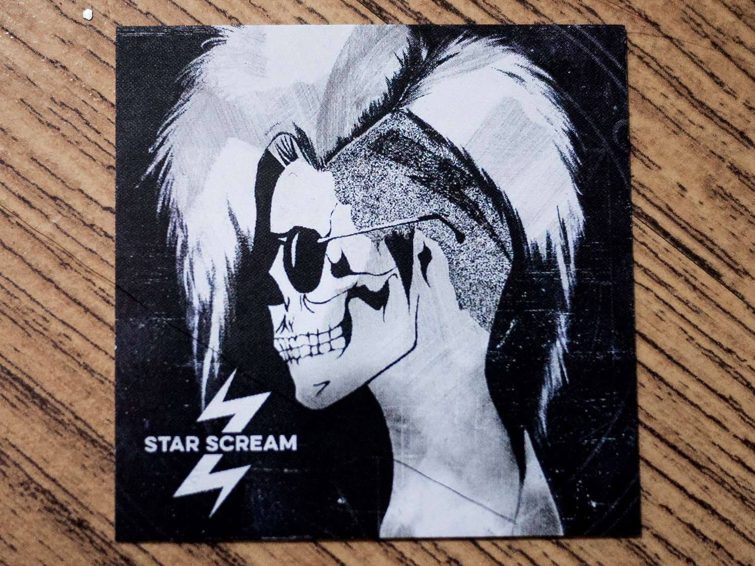 Star Scream Business Cards - Flashbang Studio
